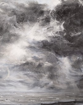 Sarah Spencer Clouded Seascape Wychwood Art