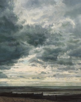Sarah Spencer Dark Day in Whitstable Wychwood Art