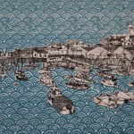 Clare Halifax, Bridge to St Pauls, Cityscape Art, London Art 5