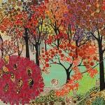 Katie Allen Autumnal Arboretum Limited Edition Print