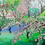 Katie Allen Cherry-Orchard buy art online