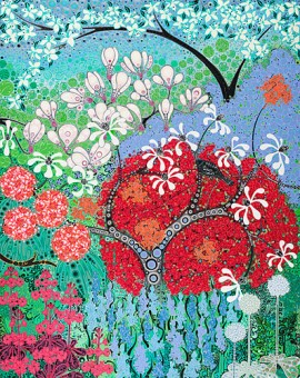 Katie Allen Clyne Gardens garden art