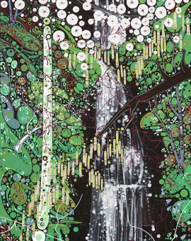 Katie Allen Glynneath Falls 1 limited edition prints
