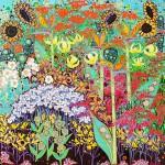 Katie Allen In The Moment 1 Garden print