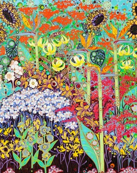 Katie Allen In The Moment 1 Garden print