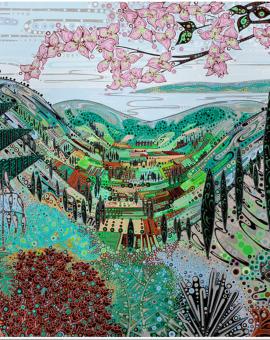 Katie Allen Kefalonia Landscape