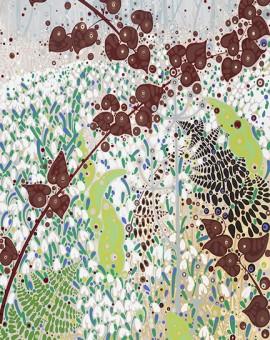 Katie Allen Snowdrops Green Cwm seasonal artwork