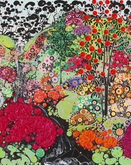 Katie Allen Spring Garden Bodnant 1 Giclee Print