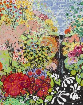 Katie Allen Spring Garden Bodnant 2 garden art