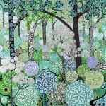 Katie Allen Wild Garlic Woodland. garden printsjpg