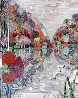 Katie Allen Winter Reflections landscape art