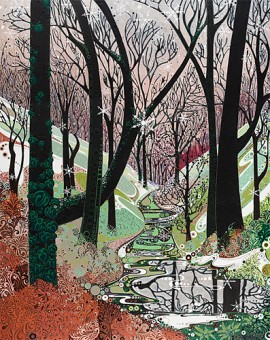 Katie Allen Winter Woodland Trees