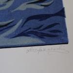 Lisa Takahashi, The Surfers, Limited Edition Linocut Print 2
