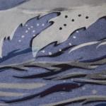Lisa Takahashi, The Surfers, Limited Edition Linocut Print 4