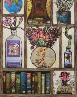 Vicky Oldfield, Spring collection, Wychwood Art, Original Print, Royal Academy Summer Exhibition Artist