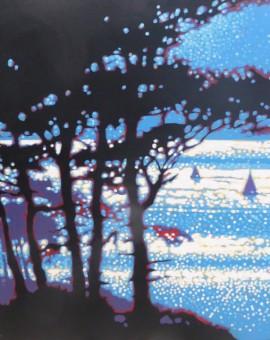 Gordon Hunt Through the Trees Wychwood Art