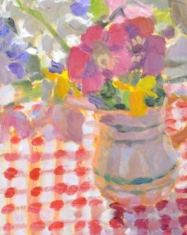 Lynne Cartlidge Spring Flowers 1  Still Life