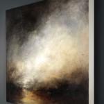 KERR ASHMORE – Night Falls insitu – wychwood art