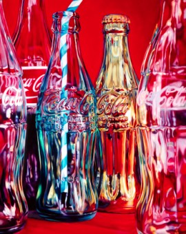 Kate Brinkworth Coke and Stripey Straw Wychwood Art