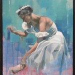 Pete Hawkins Ballerina 3 Wychwood art