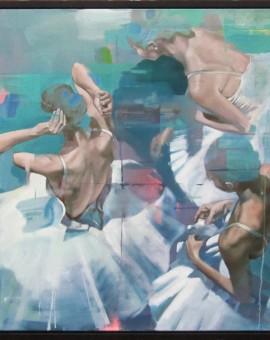 Pete Hawkins Ballerina 4 Wychwood art