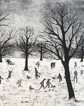 Tim Southall. Everybody Loves Snow.Wychwood Art