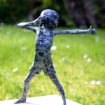 Alison Bell Surrender Bronze sculpture