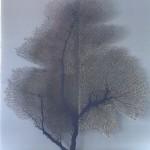 Emma Levine Seafan Grey Blue Wychwood Art