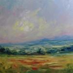Rupert Aker Summer Evening Wychwood Art