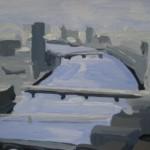 Sarah Adams London Eye to Southwark Bridge Wychwood Art