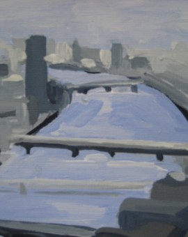 Sarah Adams London Eye to Southwark Bridge Wychwood Art