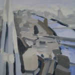 Sarah Adams Shard facing the River Thames Wychwood Art