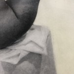 The Shape of Her, Clare Grossman, Nude Figurative Art, Limited Edition Contemporary Prints, Close Up 3
