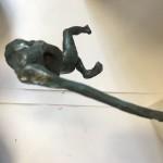 Alison Bell, Marauder, Bronze Sculpture, 3D Art, Figurative Art 4