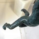 Alison Bell, Marauder, Bronze Sculpture, 3D Art, Figurative Art5