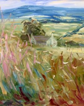 Clattergrove with Willowherb Rupert Aker Wychwood Art