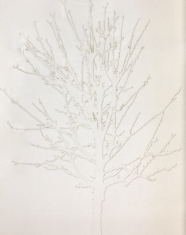 Emma Levine White Tree Wychwood Art
