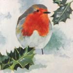 ChistmasRobin-MargaretCrutchley-WychwoodArt-OriginalArtWork