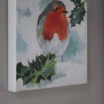 Margaret Crutchley, Christmas Robin, Bird Art, Christmas Gifts, Affordable Art 6