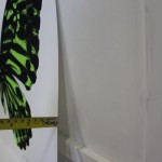 Claire Robinson, Green Butterfly, Silkscreen Print 6