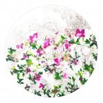 Corinne Natel-Eden-floral circle painting