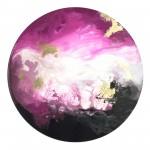 Corinne Natel-Pink Ocean-abstract circle painting