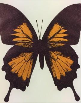 Deep Gold Butterfly - WychwoodArt