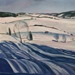 Elaine Kazimierczuk Long Winter Shadows, Zakopane Wychwood Art