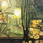 Elaine Kazimierczuk November Lamplight III Wychwood Art