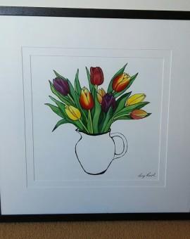 Jug of Tulips