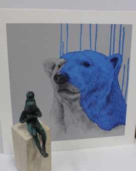 Louise McNaught, Hey There Polar Bear, Limited Edition Print 2