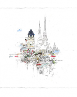 Notre Dame - Laura Jordan - Wychwood Art