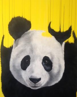 'Pandaemonium', Full Bleed Giclee on Somerset Velvet 330gsm Paper, 60x60cm (2016)
