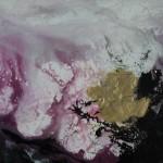 Pink Ocean BY CORINNE NATEL, Original Abstract Painting 5